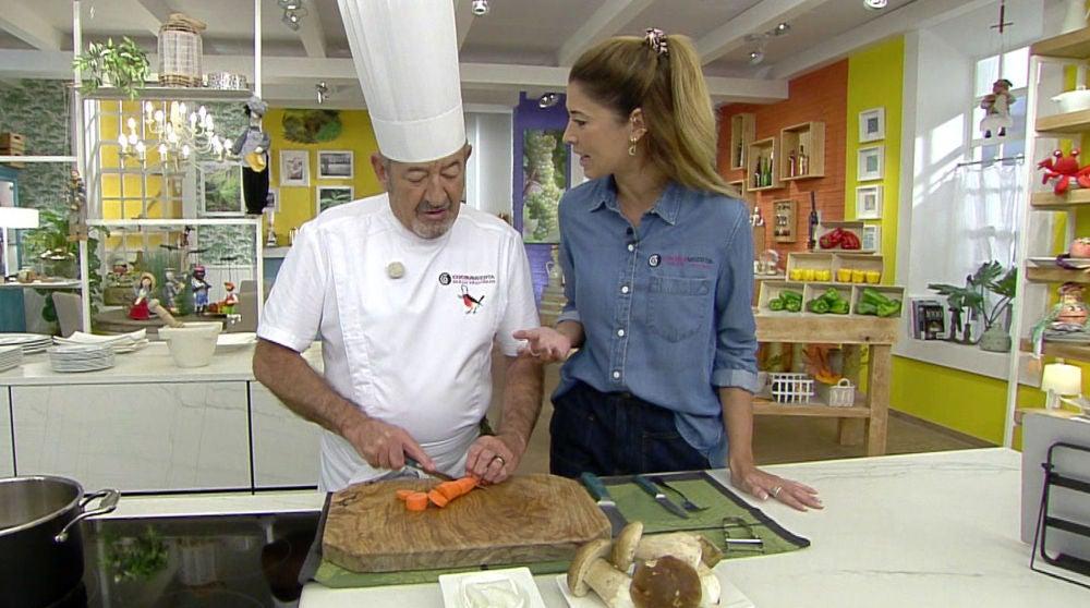 La versión de otoño de Karlos Arguiñano de las lentejas con chorizo, una de las recetas más buscadas