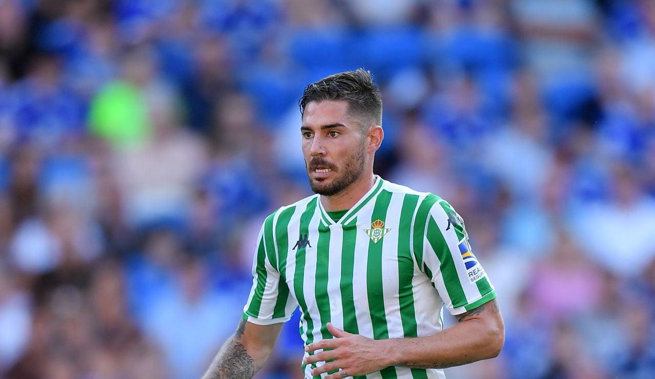 Javi García, durante un partido del Betis