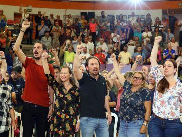 Iglesias insta a los partidos a presentar medidas contra la desaceleración