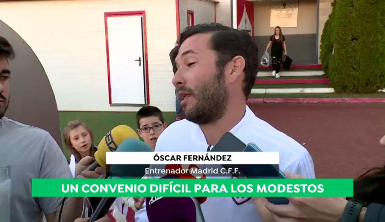 """El fútbol femenino alerta sobre el nuevo convenio de la AFE:""""Los que no tenemos papá para darnos dinero ¿Qué hacemos?"""""""