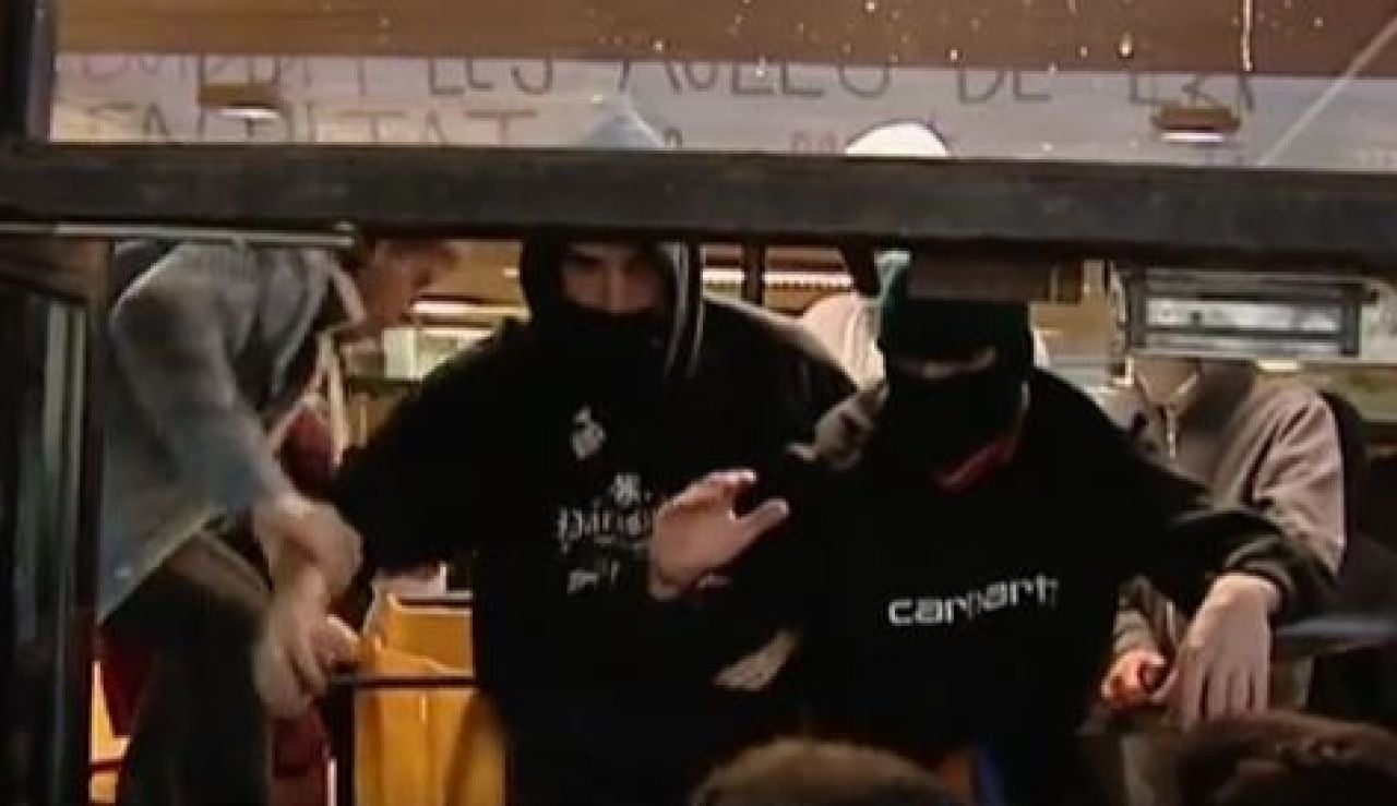 Barricadas en las universidades catalanas