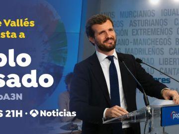 Vicente Vallés entrevista a Pablo Casado