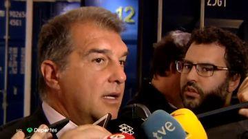 Joan Laporta arremete contra la directiva del Barça por el aplazamiento de El Clásico