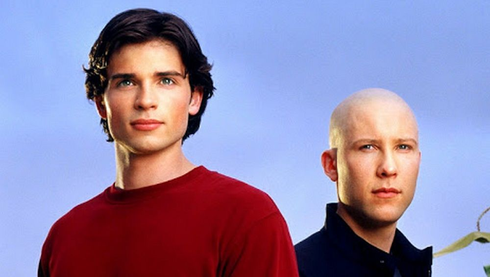 Tom Welling y Michael Rosenbaum en 'Smallville'