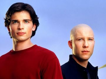 Tom Welling y Michael Rosenbaum en 'Smallville'