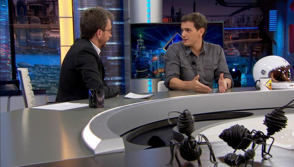 """Albert Rivera en 'El Hormiguero 3.0': """"No me voy a preocupar más tiempo por las encuestas"""""""