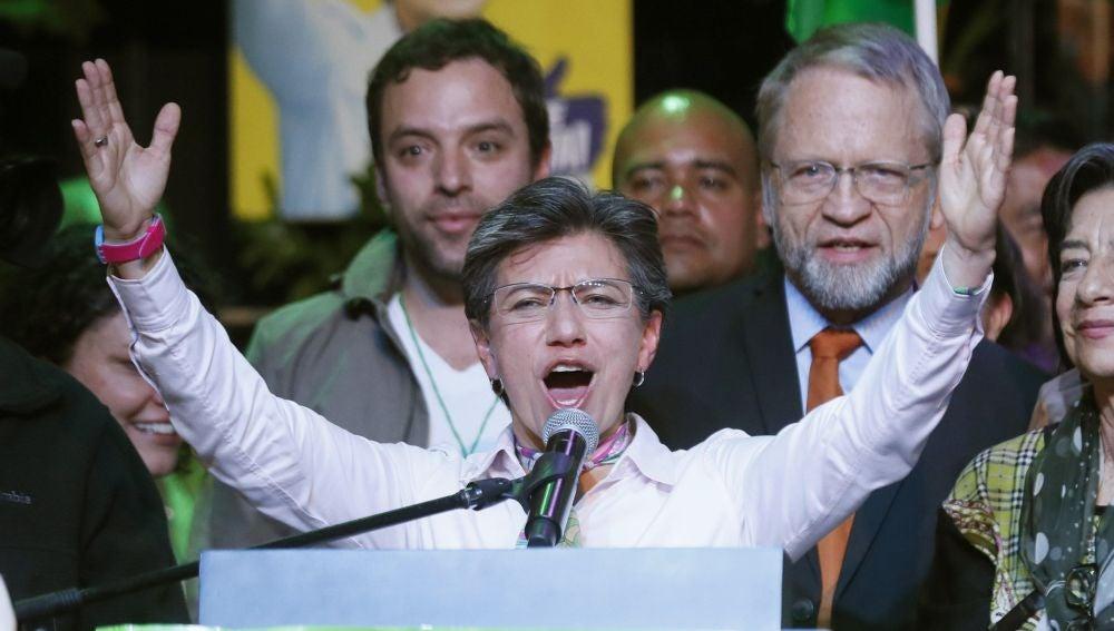 Claudia López, alcaldesa Bogotá