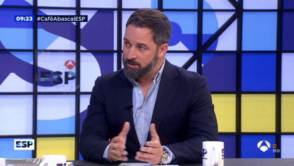 Santiago Abascal en Espejo Público.