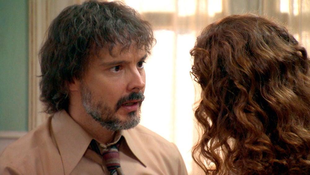 Guillermo no da crédito a la confesión de Julia