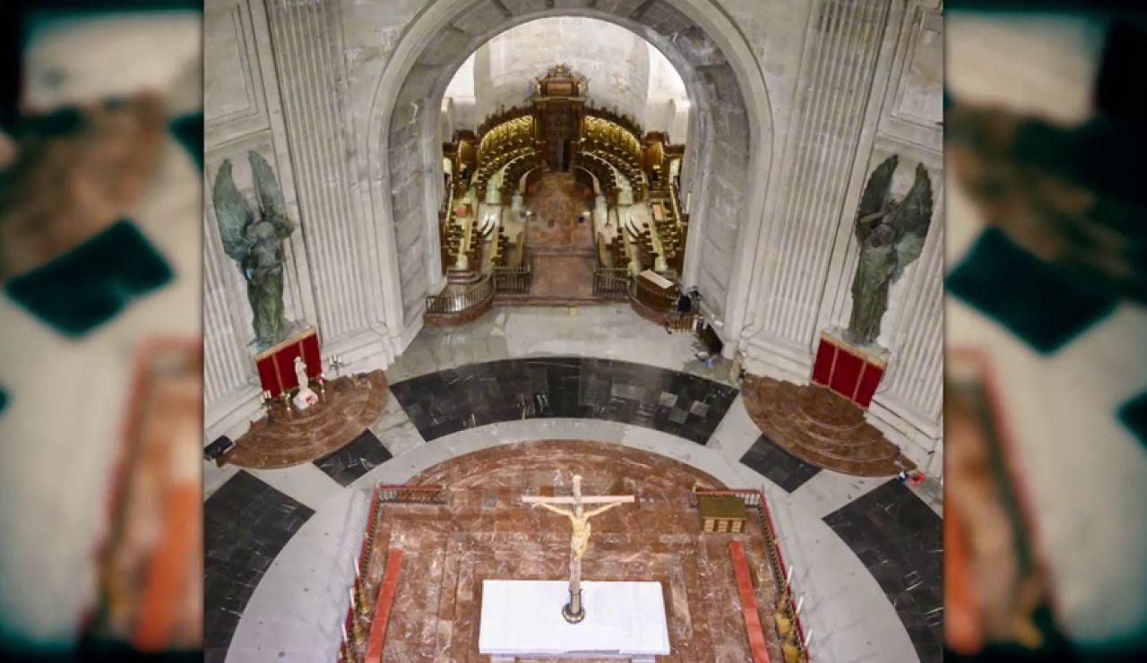 El Valle de los Caídos reabre tras la exhumación de Franco