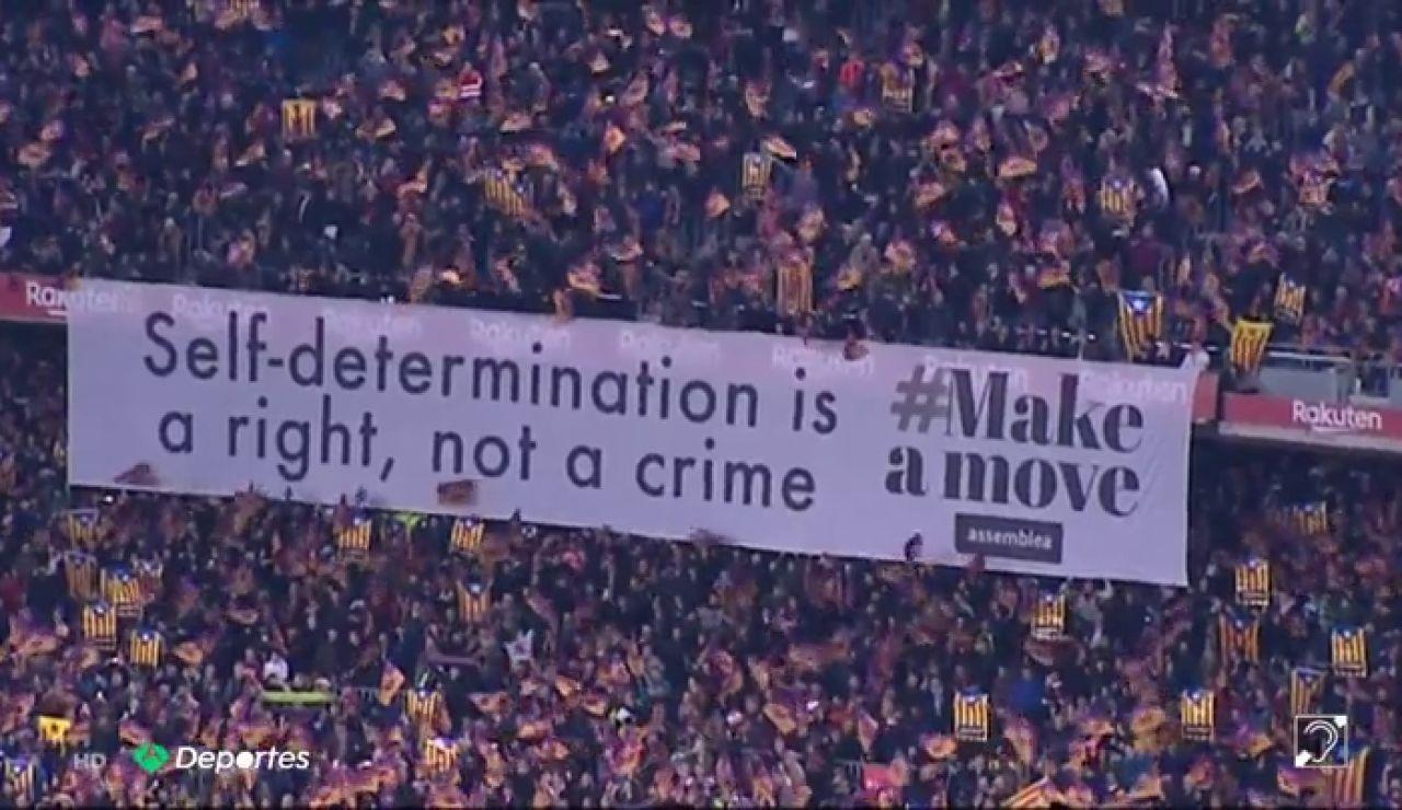 Los CDR del Barça amenazan el partido contra el Valladolid e invitan a llenar el Camp Nou de esteladas