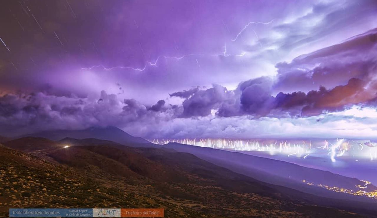 Tormenta en Tenerife