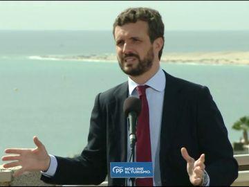 """Casado: """"El cheque de Sánchez no tiene fondos"""""""