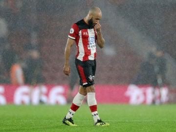 Los jugadores del Southampton tras la derrota