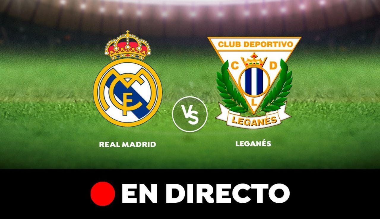 Real Madrid - Leganés: Resultado, resumen y goles del partido de hoy, en directo | Liga Santander