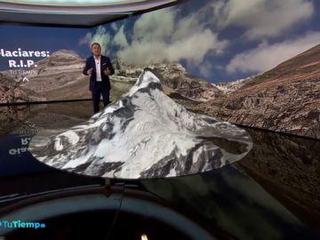El glaciar de Monte Perdido, en el Parque Nacional de Ordesa, a punto de desaparecer