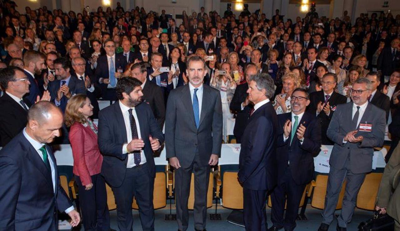 El rey interviene en el XXII Congreso Nacional de la Empresa Familiar
