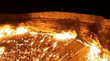 Halloween 2019: El pozo de Darzova es una prospección de gas ubicada en el desierto de Karakum, en Turkmenistán