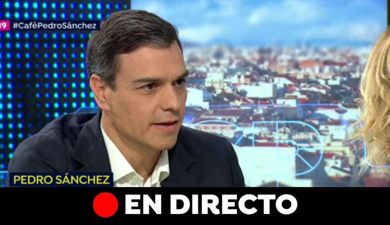 Elecciones generales 2019: Entrevista a Pedro Sánchez, en directo
