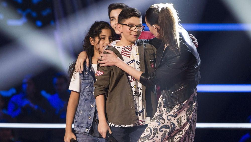 Salvador Bermúdez se queda en el equipo de David Bisbal y Niña Pastori en las Batallas de 'La Voz Kids'