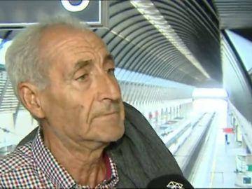 """El conductor que metió el vehículo en una estación de tren de Sevilla: """"no veas la que he liado"""""""