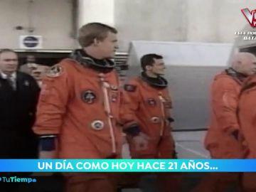 Se cumplen 21 años del viaje de Pedro Duque al espacio a bordo del Discovery