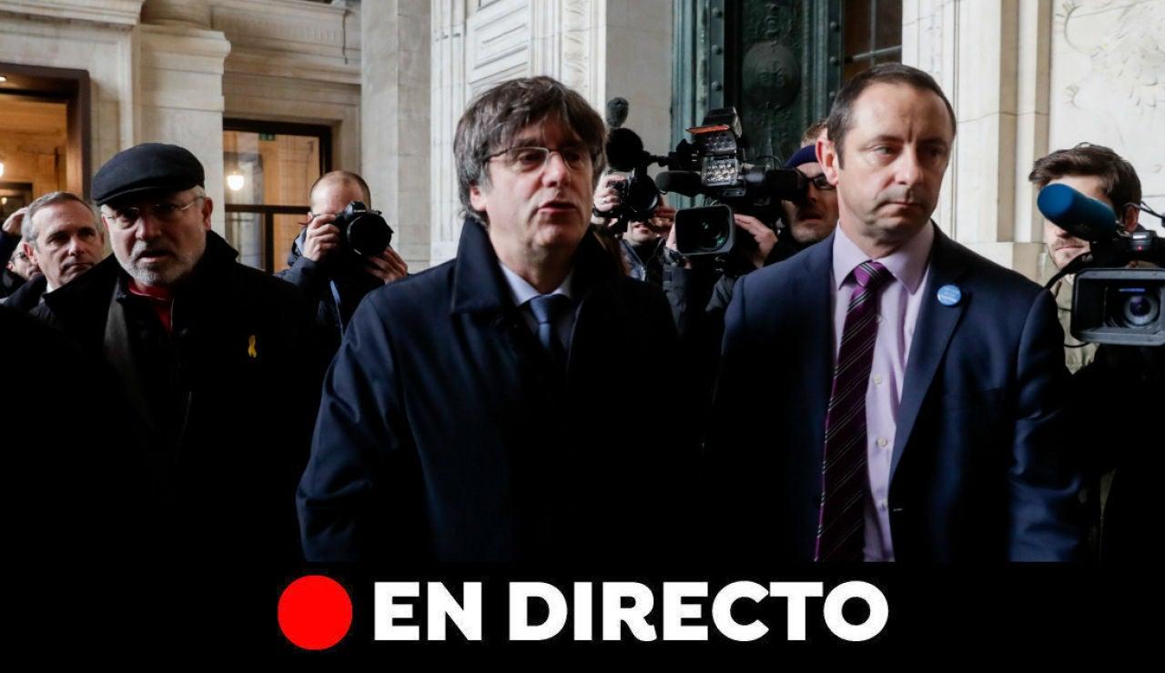 Última hora Cataluña: Carles Puigdemont, cortes de carreteras y Barcelona hoy, en directo