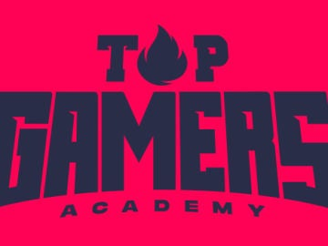 El logo de Top Gamers Academy