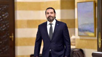 El primer ministro de Líbano, Said Hariri