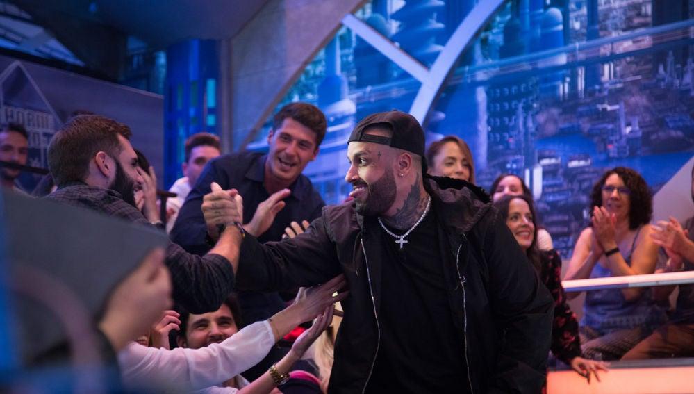 """Nicky Jam explica en 'El Hormiguero 3.0' el cambio que le salvó la vida: """"El amor que me dio Colombia"""""""