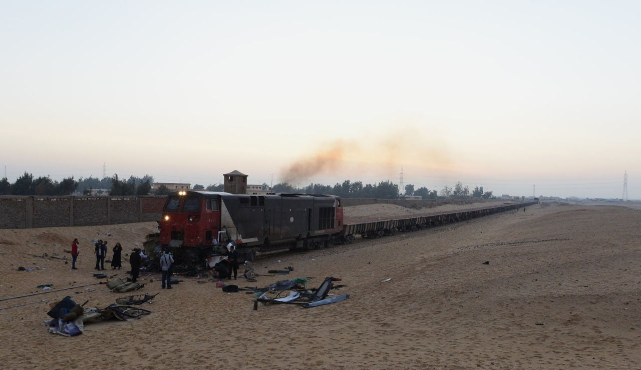 Tren en Egipto