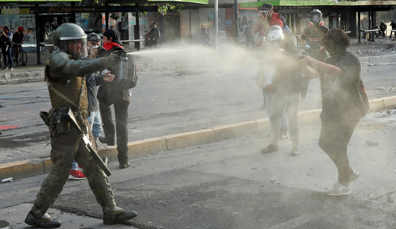Disturbios Chile