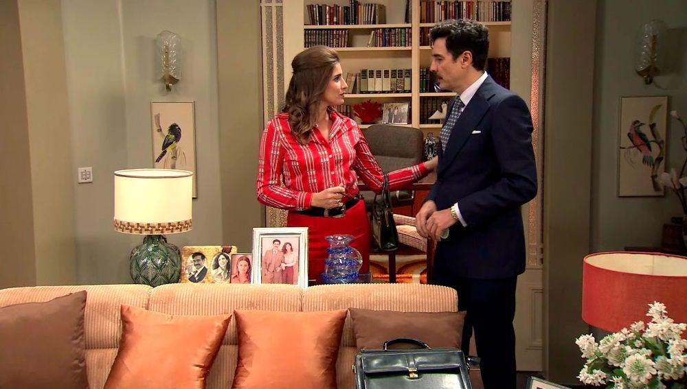 Irene descubre que Armando quiere reconquistar a Julia