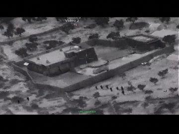 El Pentágono publica las primeras imágenes del ataque contra Al Bagdadi desde el aire