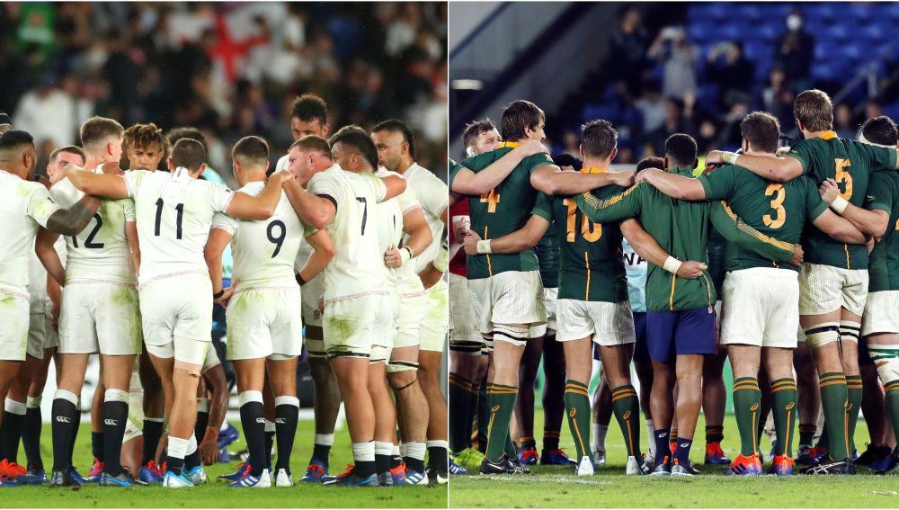 Inglaterra vs Sudáfrica, final del Mundial de Rugby