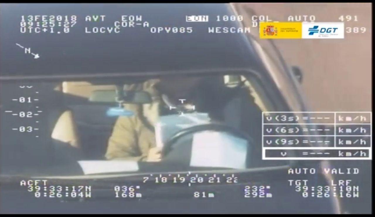 Las imágenes de las infracciones más graves captadas por las cámaras de Tráfico