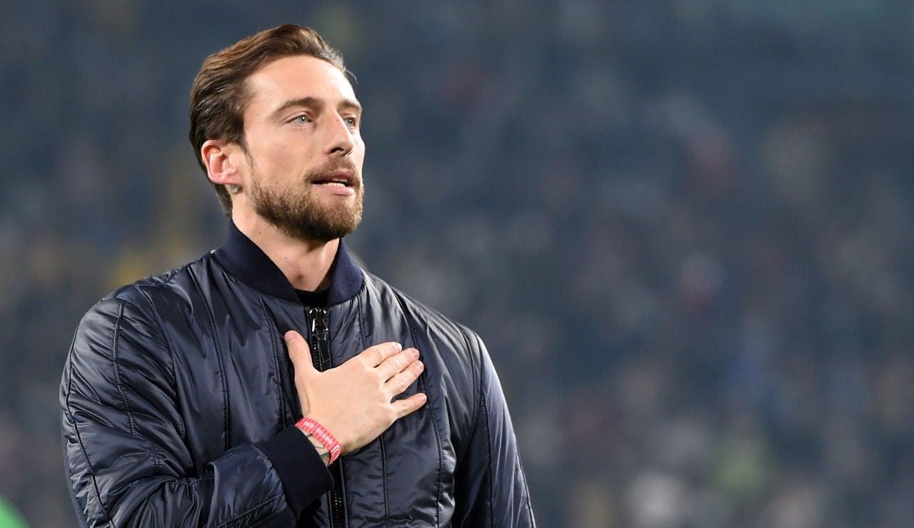 El exjugador de la Juventus Claudio Marchisio