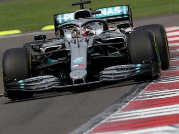 Hamilton en el GP de México