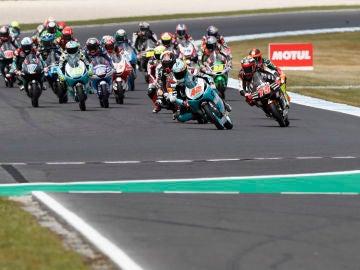 La carrera del GP de Australia