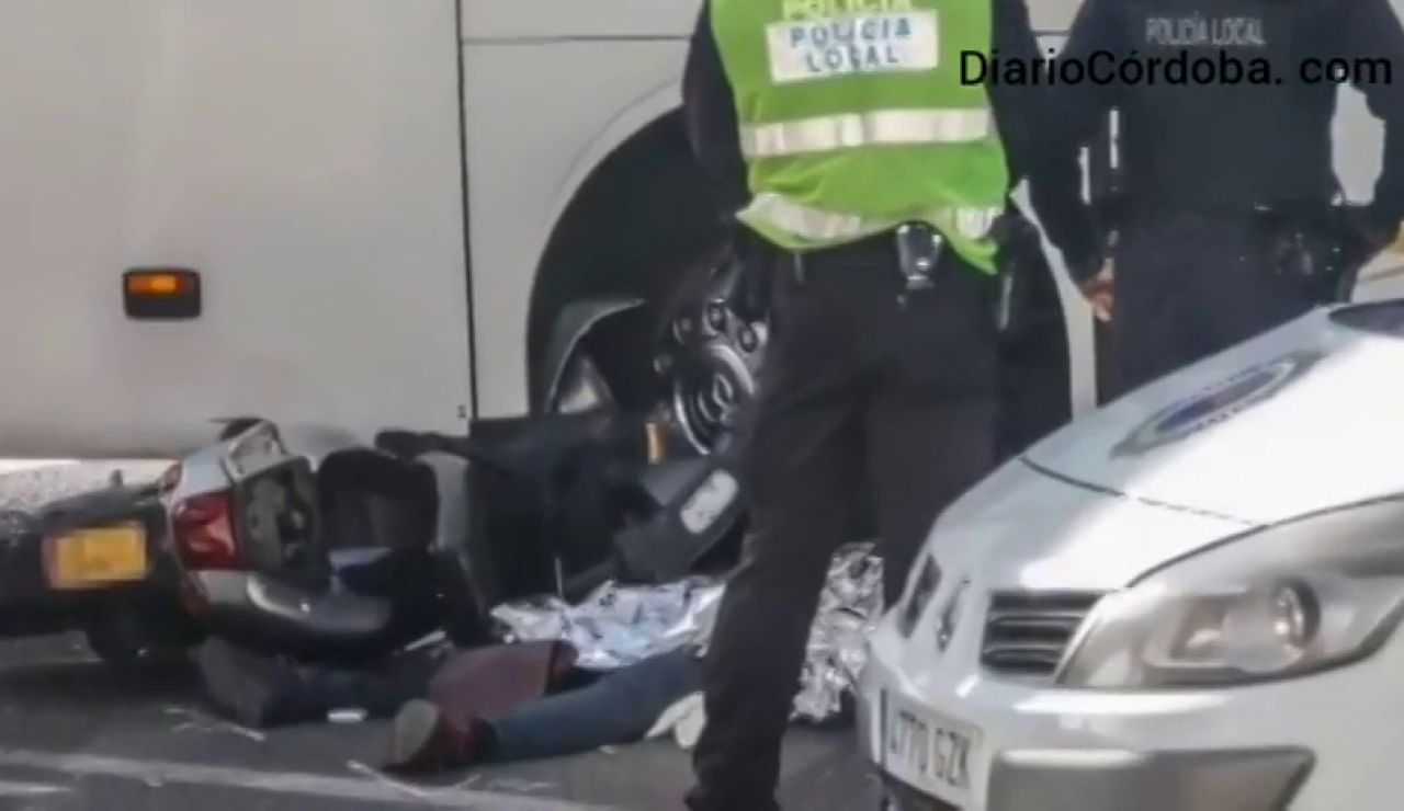 Detienen por consumo de coca al conductor del autobús que arrolló a un motorista en Córdoba