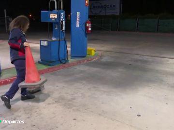 La dura historia de Lara Fernández, subcampeona del mundo de Muay Thai y trabajando en una gasolinera de noche