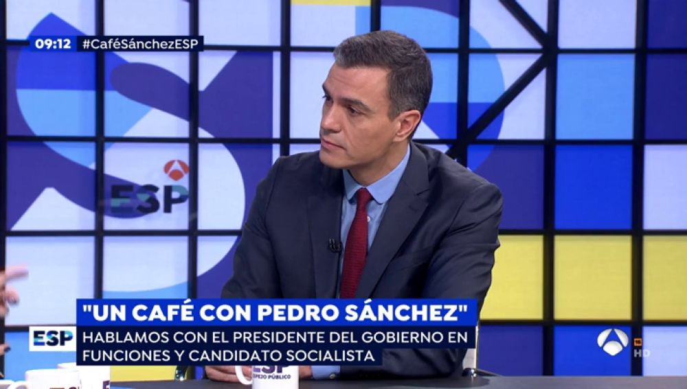 Los 10 titulares que ha dejado el presidente en funciones, Pedro Sánchez, en Espejo Público tras las elecciones