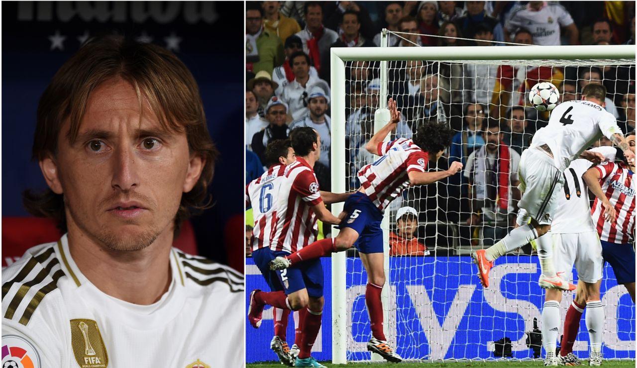 Luka Modric habla sobre el gol de Sergio Ramos en la final de Lisboa