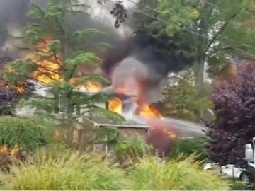 Accidente de una avioneta en Nueva Jersey