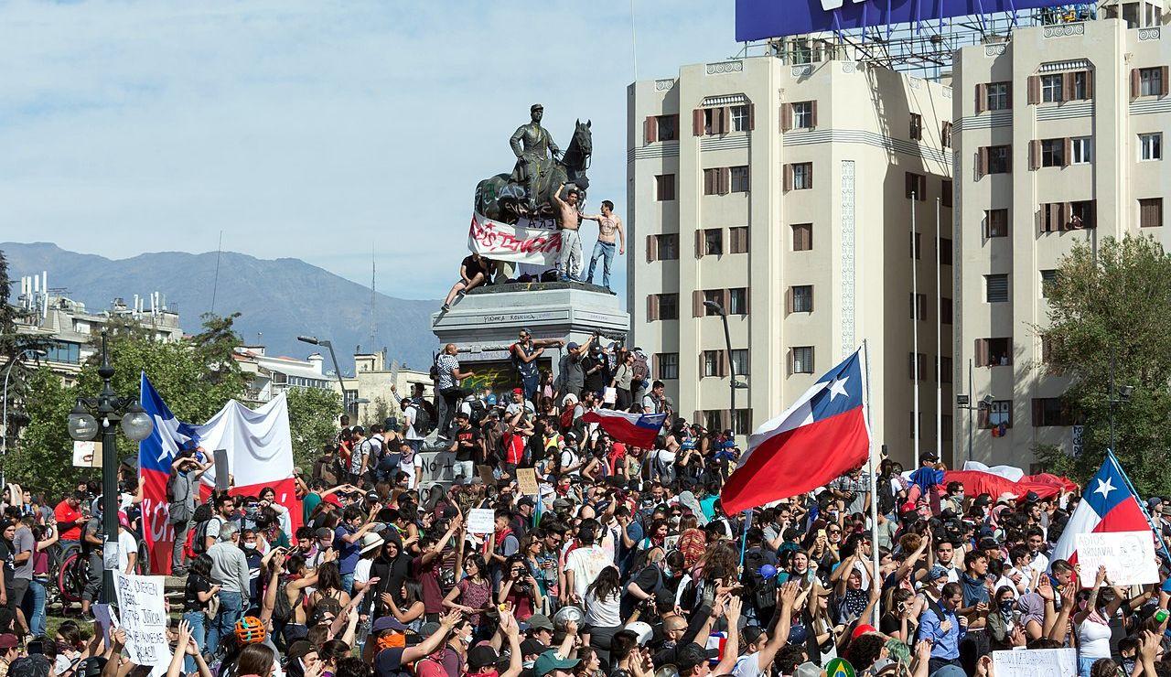 Chile durante las protestas