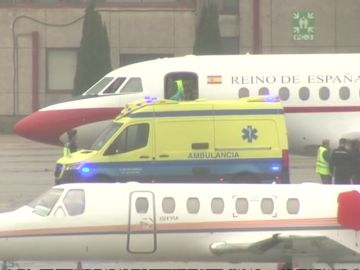 Trasladado a Vigo el policía herido grave en Barcelona