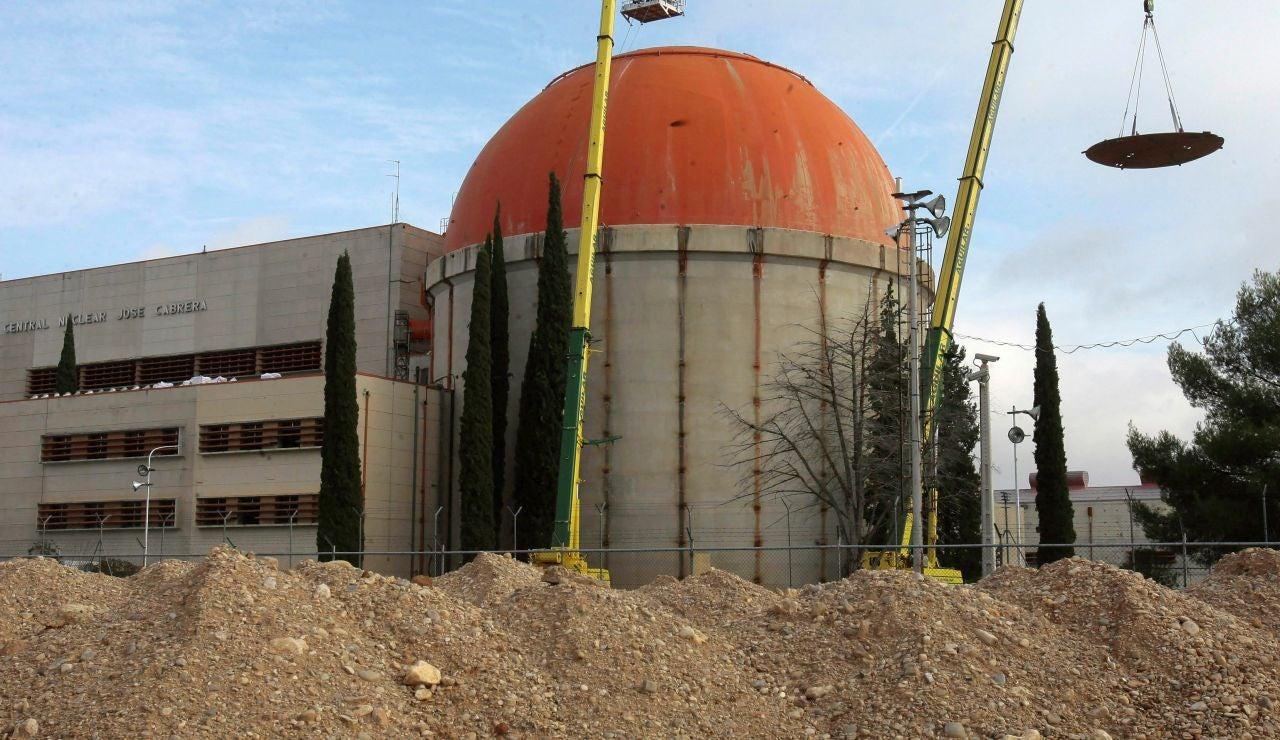 Desmantelamiento de la central nuclear de Zorita
