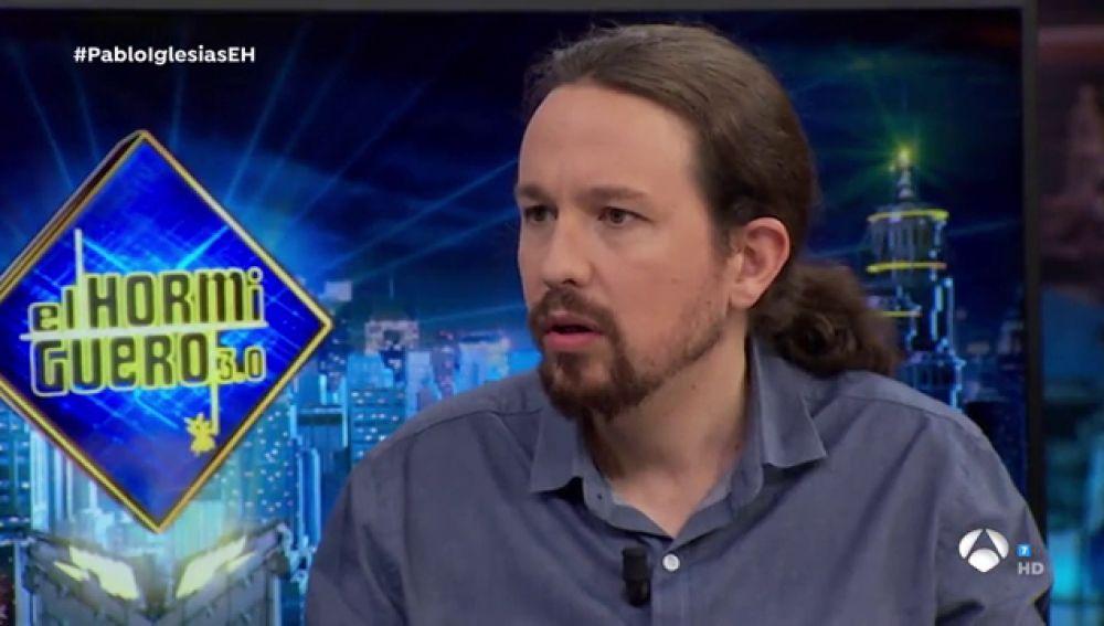 """Pablo Iglesias pone nombres a los que denomina """"poderosos"""" en 'El Hormiguero 3.0'"""