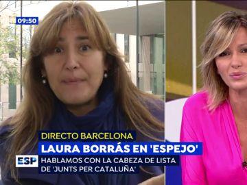 Laura Borrás en Espejo Público