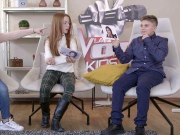Los talents de 'La Voz Kids', a examen de música: ¿Saben quién es el cantante?